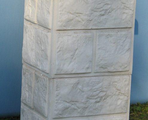 ČELNI STUP D 16 ( kocke umjetni kamen)